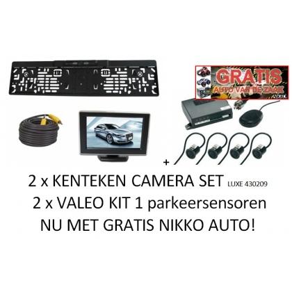 nummerplaatcameraset met auto